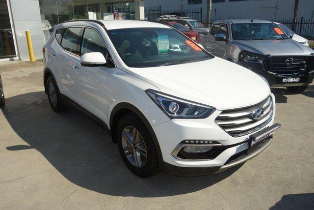 Used Hyundai Santa Fe DM5 MY18 Active East Maitland, 2018 Hyundai Santa Fe DM5 MY18 Active White 6 Speed Sports Automatic Wagon