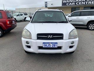 2006 Hyundai Tucson City White 4 Speed Auto Selectronic Wagon.