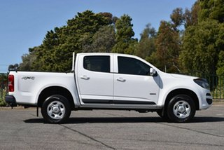 2016 Holden Colorado RG MY17 LS Pickup Crew Cab White 6 Speed Sports Automatic Utility
