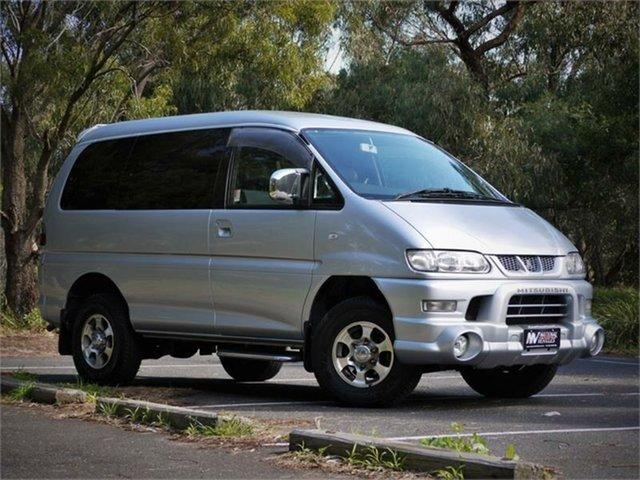 Used Mitsubishi Delica Spacegear Braeside, 2005 Mitsubishi Delica PD6W Spacegear Silver 4 Speed Automatic Van Wagon