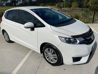 2015 Honda Jazz GF MY15 VTi White 1 Speed Constant Variable Hatchback.