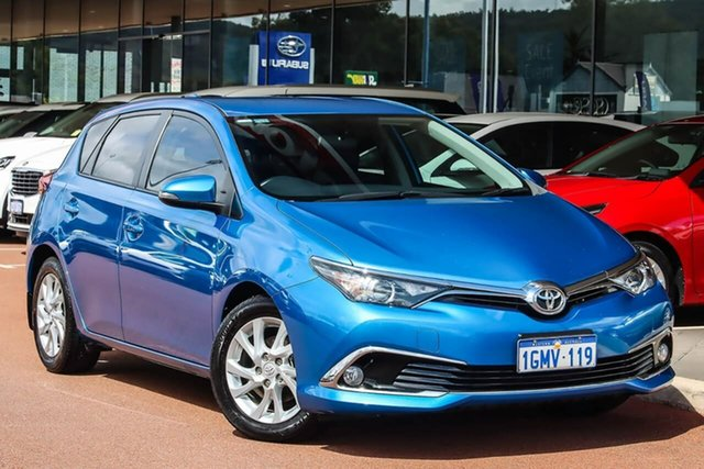 Used Toyota Corolla ZRE182R Ascent Sport S-CVT Gosnells, 2018 Toyota Corolla ZRE182R Ascent Sport S-CVT Blue 7 Speed Constant Variable Hatchback