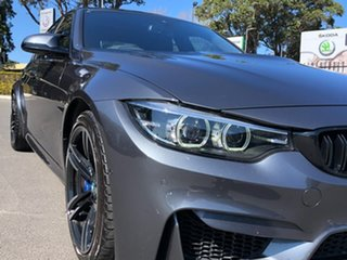 2018 BMW M3 F80 LCI M-DCT Grey 7 Speed Sports Automatic Dual Clutch Sedan.