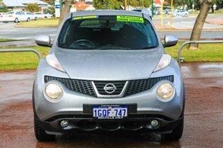 2014 Nissan Juke F15 MY14 ST 2WD Silver 5 Speed Manual Hatchback