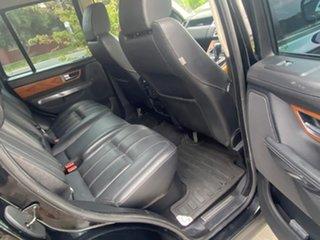 2010 Land Rover Range Rover Sport L320 11MY TDV6 Black 6 Speed Sports Automatic Wagon