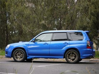 2006 Subaru Forester SG5 Cross Sport Blue 4 Speed Automatic Wagon