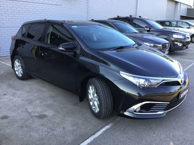 Pre-Owned Toyota Corolla ZRE182R Ascent S-CVT Cardiff, 2017 Toyota Corolla ZRE182R Ascent S-CVT Black 7 Speed Constant Variable Hatchback