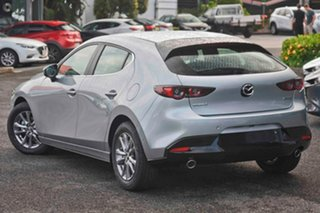 2021 Mazda 3 BP2H7A G20 SKYACTIV-Drive Pure Silver 6 Speed Sports Automatic Hatchback