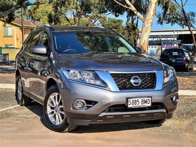 Used Nissan Pathfinder R52 MY15 ST X-tronic 2WD St Marys, 2016 Nissan Pathfinder R52 MY15 ST X-tronic 2WD Grey 1 Speed Constant Variable Wagon
