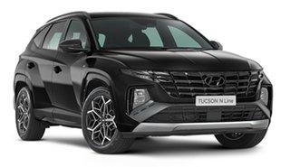 2021 Hyundai Tucson NX4.V1 MY22 2WD N Line Phantom Black 6 Speed Automatic Wagon