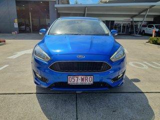 2016 Ford Focus LZ Titanium Blue 6 Speed Automatic Hatchback.