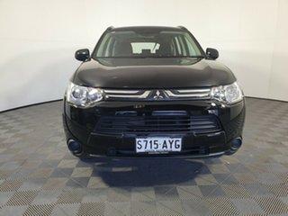 2013 Mitsubishi Outlander ZJ MY14 ES 4WD Black 6 Speed Constant Variable Wagon.