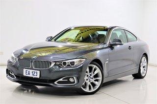 2014 BMW 4 Series F32 428i Luxury Line Grey 8 Speed Sports Automatic Coupe.