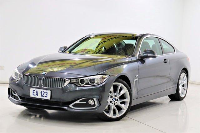 Used BMW 4 Series F32 428i Luxury Line Brooklyn, 2014 BMW 4 Series F32 428i Luxury Line Grey 8 Speed Sports Automatic Coupe