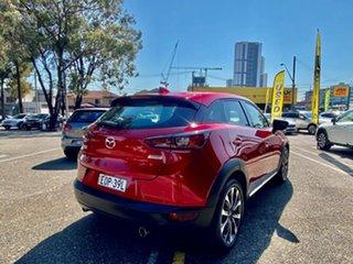 2018 Mazda CX-3 DK4W7A Akari SKYACTIV-Drive i-ACTIV AWD Red 6 Speed Sports Automatic Wagon.