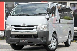 2016 Toyota HiAce KDH201R Silver 4 Speed Automatic Van.