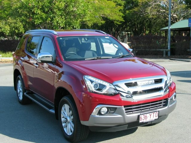 Used Isuzu MU-X UC MY18 LS-T (4x4) Albion, 2019 Isuzu MU-X UC MY18 LS-T (4x4) Red 6 Speed Auto Sequential Wagon