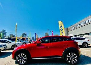 2018 Mazda CX-3 DK4W7A Akari SKYACTIV-Drive i-ACTIV AWD Red 6 Speed Sports Automatic Wagon