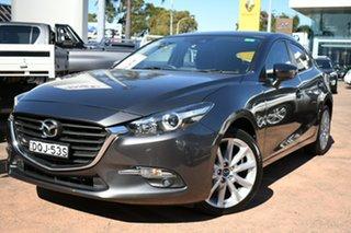 2017 Mazda 3 BN MY17 SP25 Grey 6 Speed Automatic Hatchback.