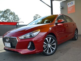 2018 Hyundai i30 PD2 MY18 Elite Scarlet Red 6 Speed Sports Automatic Hatchback