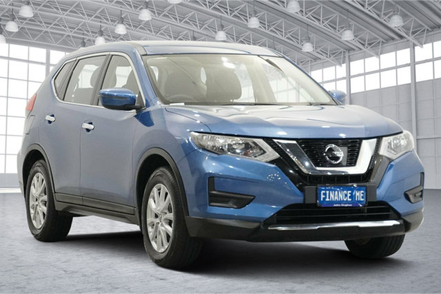 Used Nissan X-Trail T32 Series III MY20 ST X-tronic 4WD Victoria Park, 2020 Nissan X-Trail T32 Series III MY20 ST X-tronic 4WD Blue 7 Speed Constant Variable Wagon