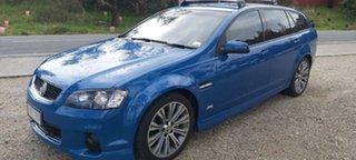 2012 Holden Commodore VE II MY12.5 SV6 Sportwagon Z Series Blue 6 Speed Sports Automatic Wagon.