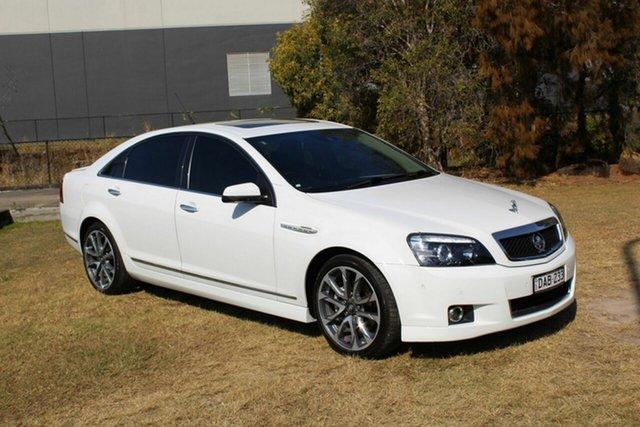 Used Holden Caprice WN II MY16 V Ormeau, 2016 Holden Caprice WN II MY16 V White 6 Speed Sports Automatic Sedan