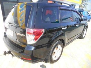 2008 Subaru Forester S3 MY09 XS AWD Black 5 Speed Manual Wagon