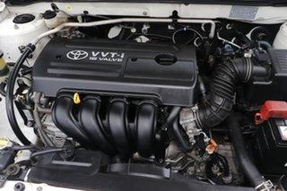 2006 Toyota Corolla ZZE122R 5Y Ascent White 4 Speed Automatic Sedan