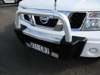 2015 Nissan Navara SE SILVERLINE 4x4 White 4 Speed Automatic Dual Cab