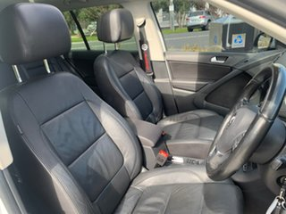 2014 Volkswagen Tiguan 5N MY14 103TDI DSG 4MOTION Pacific White 7 Speed Sports Automatic Dual Clutch