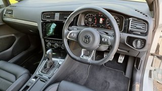 2020 Volkswagen Golf 7.5 MY20 110TSI DSG Highline Pure White 7 Speed Sports Automatic Dual Clutch