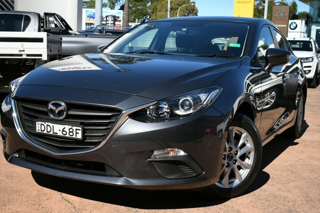 Used Mazda 3 BM MY15 Neo Brookvale, 2016 Mazda 3 BM MY15 Neo Grey 6 Speed Automatic Hatchback
