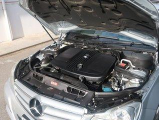 2012 Mercedes-Benz C-Class W204 MY12 C200 CDI BlueEFFICIENCY 7G-Tronic + Silver 7 Speed.