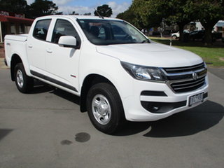 2017 Holden Colorado RG MY17 LS (4x4) White 6 Speed Automatic Dual Cab.