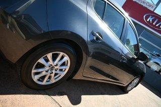 2016 Mazda 3 BM MY15 Neo Grey 6 Speed Automatic Hatchback