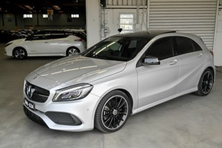 2018 Mercedes-Benz A-Class W176 808+058MY A200 DCT Silver 7 Speed Sports Automatic Dual Clutch