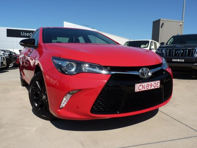 Pre-Owned Toyota Camry ASV50R RZ Blacktown, 2017 Toyota Camry ASV50R RZ Red 6 Speed Sports Automatic Sedan