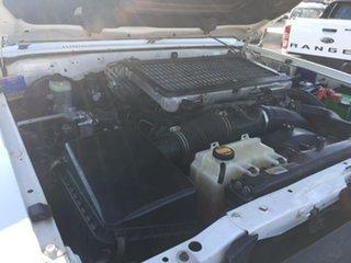 2009 Toyota Landcruiser Workmate White Manual Wagon