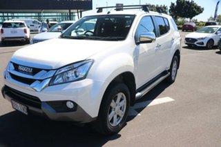 2015 Isuzu MU-X MY15 LS-U Rev-Tronic White 5 Speed Sports Automatic Wagon.