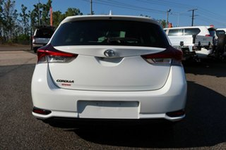 2018 Toyota Corolla ZRE182R S-CVT White 6 Speed Constant Variable Hatchback