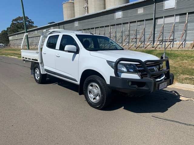 Pre-Owned Holden Colorado RG MY17 LS (4x4) Oakey, 2016 Holden Colorado RG MY17 LS (4x4) White 6 Speed Automatic Crew Cab Chassis