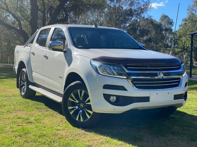 Used Holden Colorado RG MY18 LTZ Pickup Crew Cab Wodonga, 2017 Holden Colorado RG MY18 LTZ Pickup Crew Cab White 6 Speed Sports Automatic Utility