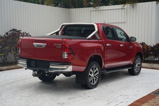 2017 Toyota Hilux GUN126R SR5 Double Cab Red 6 Speed Sports Automatic Utility