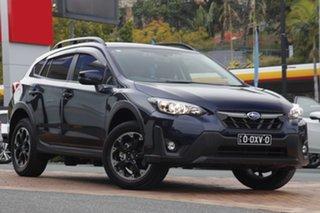 2021 Subaru XV G5X MY21 2.0i Premium Lineartronic AWD Dark Blue 7 Speed Constant Variable Wagon.