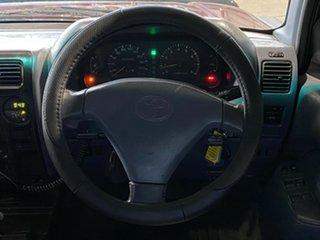 1998 Toyota Landcruiser Prado VZJ95R GXL Maroon 4 Speed Automatic Wagon