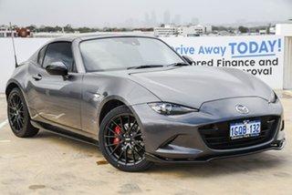 2018 Mazda MX-5 ND Limited Edition RF SKYACTIV-MT Grey 6 Speed Manual Targa.