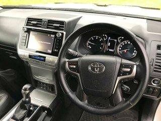 2018 Toyota Landcruiser Prado GDJ150R MY17 GXL (4x4) Crystal Pearl 6 Speed Automatic Wagon
