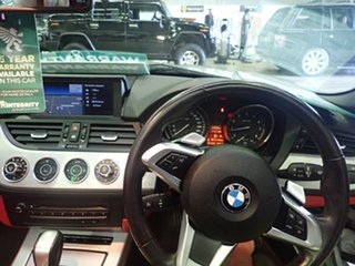 2009 BMW Z4 E89 sDrive 23I Silver Mica Metallic 6 Speed Auto Steptronic Roadster