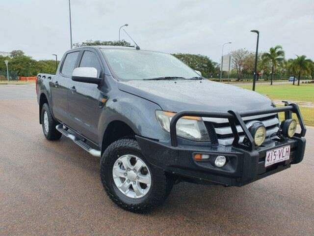 Used Ford Ranger PX XLS Double Cab Townsville, 2015 Ford Ranger PX XLS Double Cab Metro 6 Speed Sports Automatic Utility